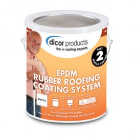 EPDM Dicor Rubber Roof Coating