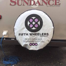Fifth Wheelers Australia Spare Tyre Cover