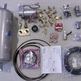 Single Compressor air brake kit