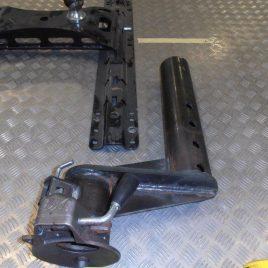 Bulldog BX1 Gooseneck 3″ Coupler Post (Offset)